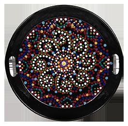 Virginia Beach Mosaic Mandala Tray