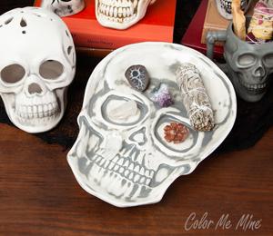Virginia Beach Vintage Skull Plate