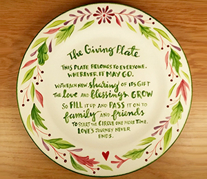 Norfolk The Giving Plate