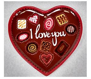 Norfolk Valentine's Chocolate