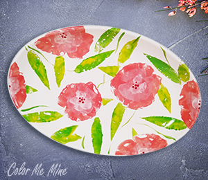 Norfolk Floral Paper Stamping