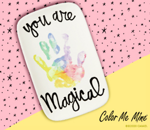 Norfolk Rainbow Hand-print