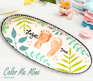 Norfolk Tropical Baby Tray