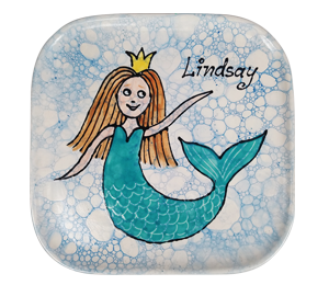 Norfolk Mermaid Plate