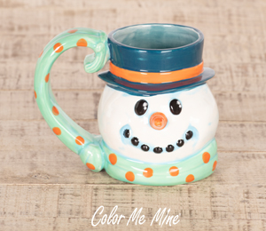 Norfolk Snowman Mug