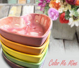 Norfolk Candy Heart Bowls
