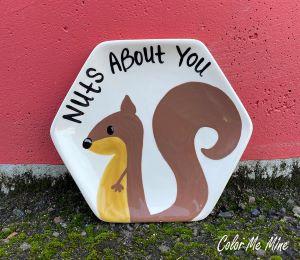 Norfolk Squirrel Plate