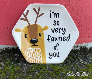 Norfolk Fawn Plate