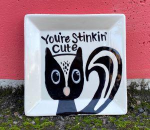 Norfolk Raccoon Plate