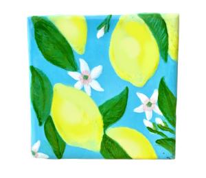 Norfolk Lemon Square Tile