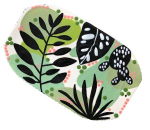 Norfolk Leafy Charcuterie Board
