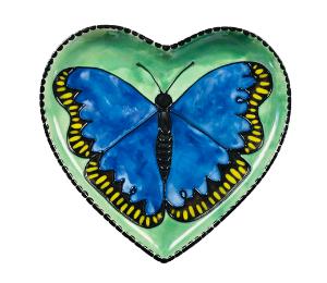 Norfolk Butterfly Plate