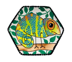 Norfolk Chameleon Plate