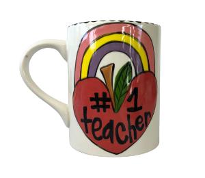 Norfolk Rainbow Apple Mug