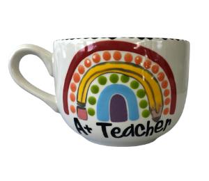 Norfolk Polka Dot Rainbow Mug